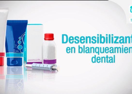 Desensibilizantes en blanqueamiento dental