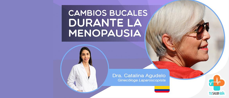 Cambios bucales durante la menopausia