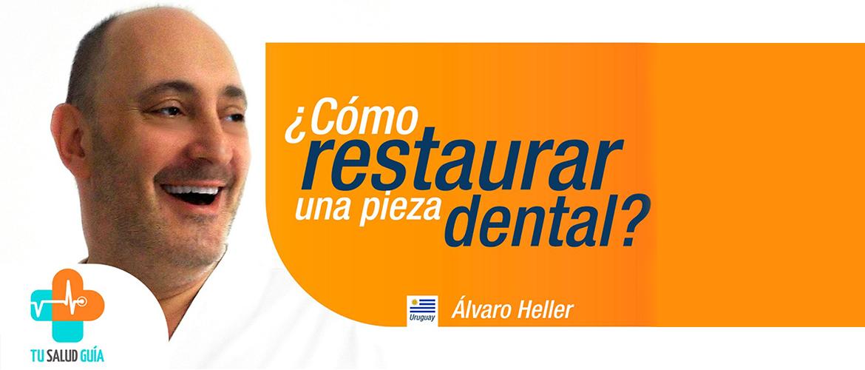 Como restaurar una pieza dental