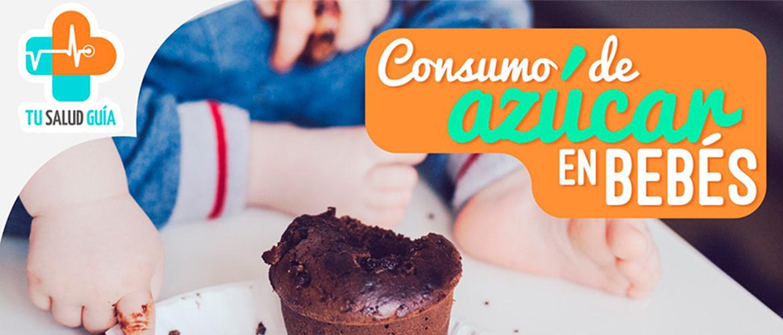 Consumo de azúcar en bebés