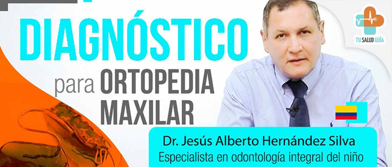 Diagnóstico para ortopedia maxilar