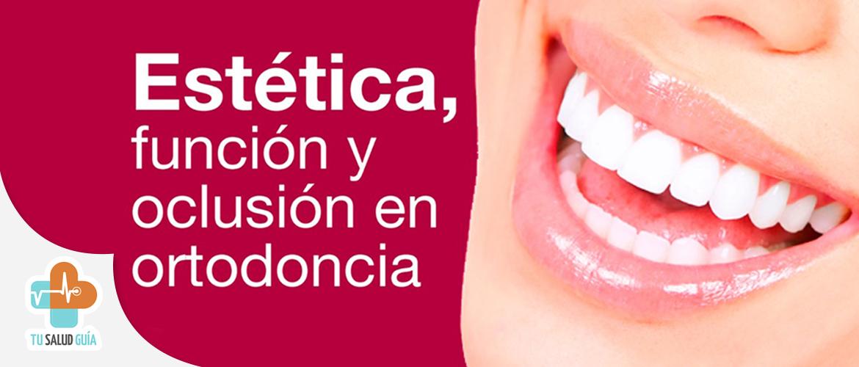Estética, función y oclusión en ortodoncia