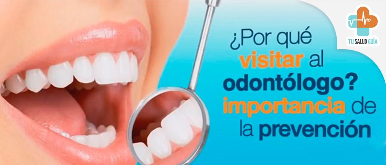 por que visitar al odontologo