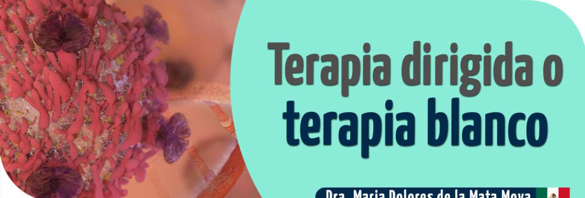 Terapia dirigida o terapia blanco