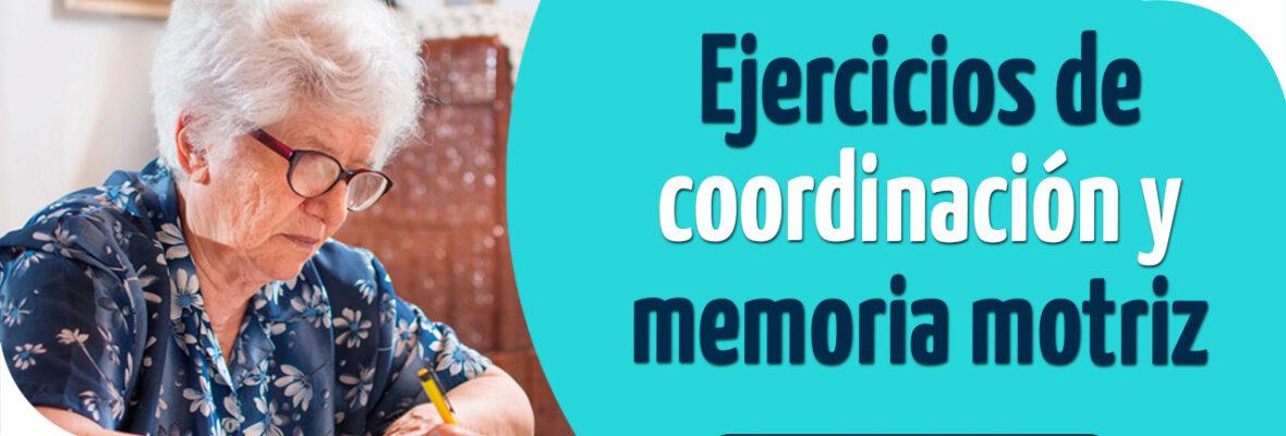 Ejercicios de coordinación y memoria motriz